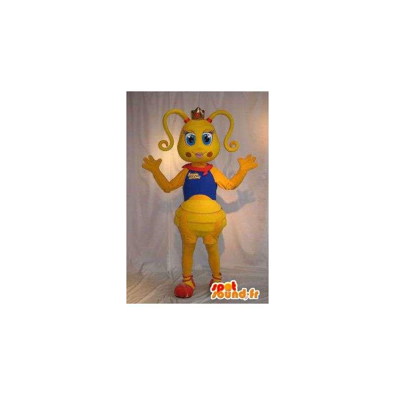 Ant civetta mascotte, costume formica - MASFR001825 - Mascotte di galline pollo gallo