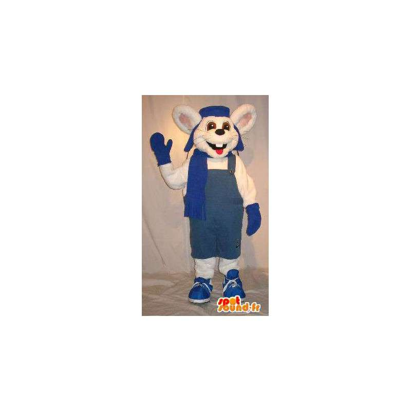 Hiiri Mascot talven asu, hiiri puku - MASFR001830 - hiiri Mascot