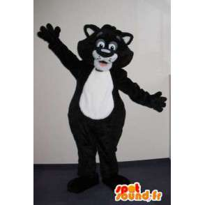 Mascot plush cat costume big pussy - MASFR001834 - Cat mascots