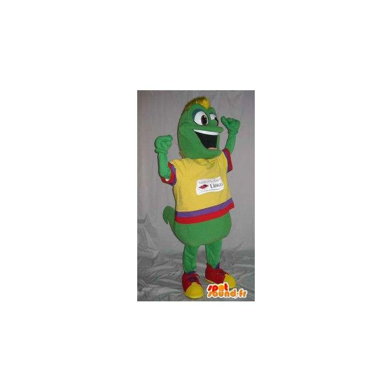 Maskotka dżdżownica kolorowy strój, przebranie wielobarwny - MASFR001848 - maskotki Insect