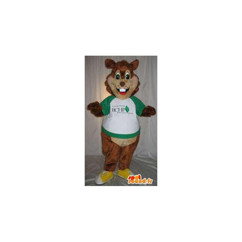 Braun Nagetier Eichhörnchen Maskottchen Kostüm - MASFR001849 - Maskottchen Eichhörnchen