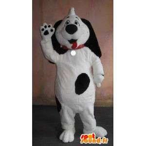 Mascote bebê Dalmatian traje de pelúcia