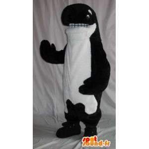Stellvertretend für ein orca Plüsch Maskottchen Kostüm Wal - MASFR001860 - Maskottchen des Ozeans