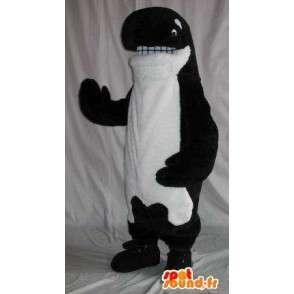 Costume orca av alle størrelser og høyere kvalitet - MASFR00887 - Maskoter av havet