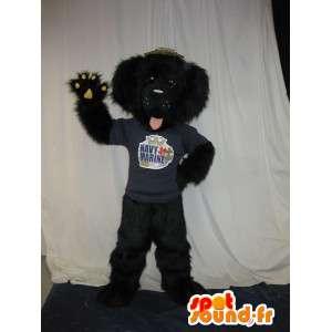 小さな子犬のマスコット、ペットのコスチューム-masfr001694-犬のマスコット