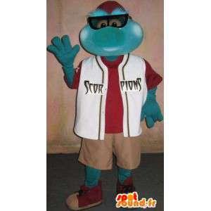 Mascotte d'insecte en tenue décontractée, déguisement insecte