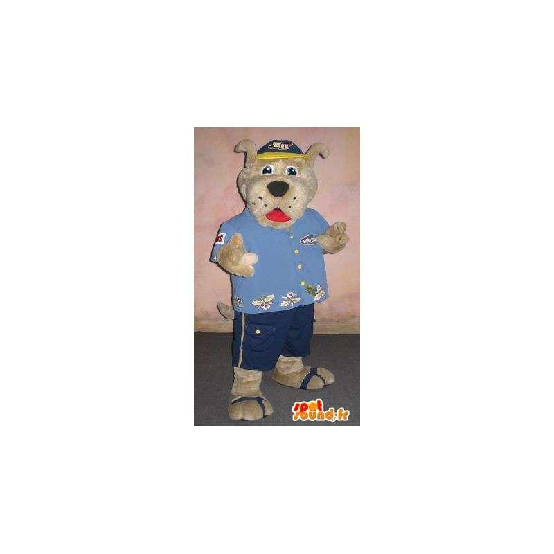 Dog-Maskottchen in touristischen Modus touristische Verkleidung - MASFR001865 - Hund-Maskottchen