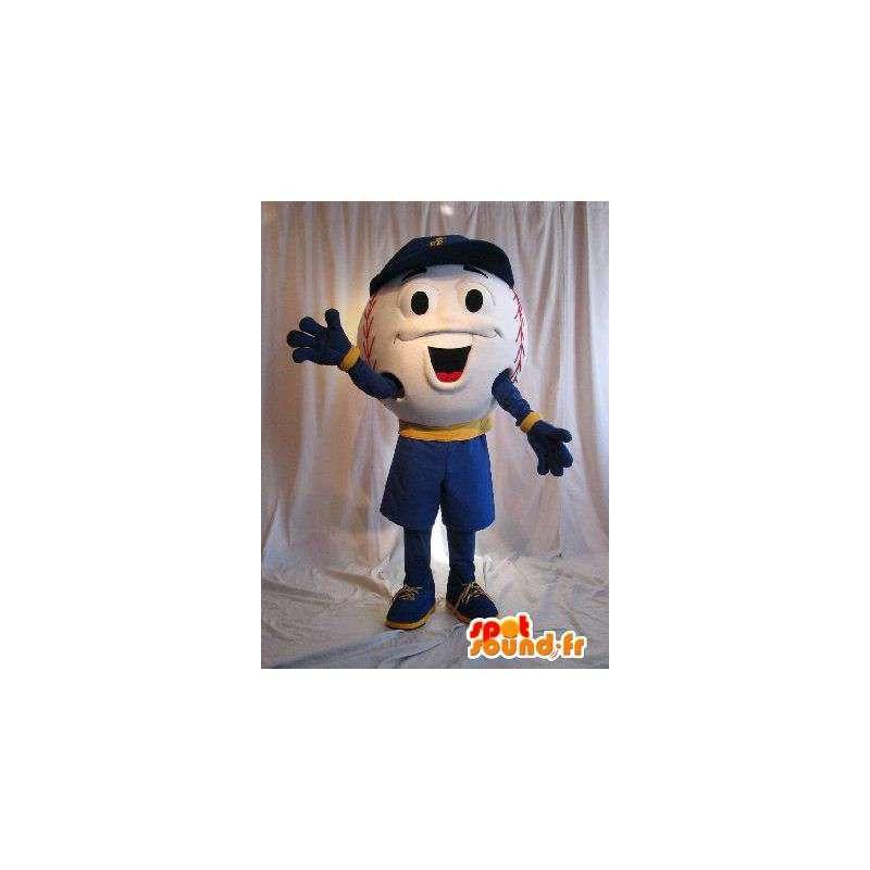 Carácter de la mascota del baile de disfraces de béisbol - MASFR001878 - Mascota de deportes