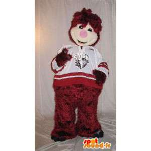 Plush animated mascot costume for children
