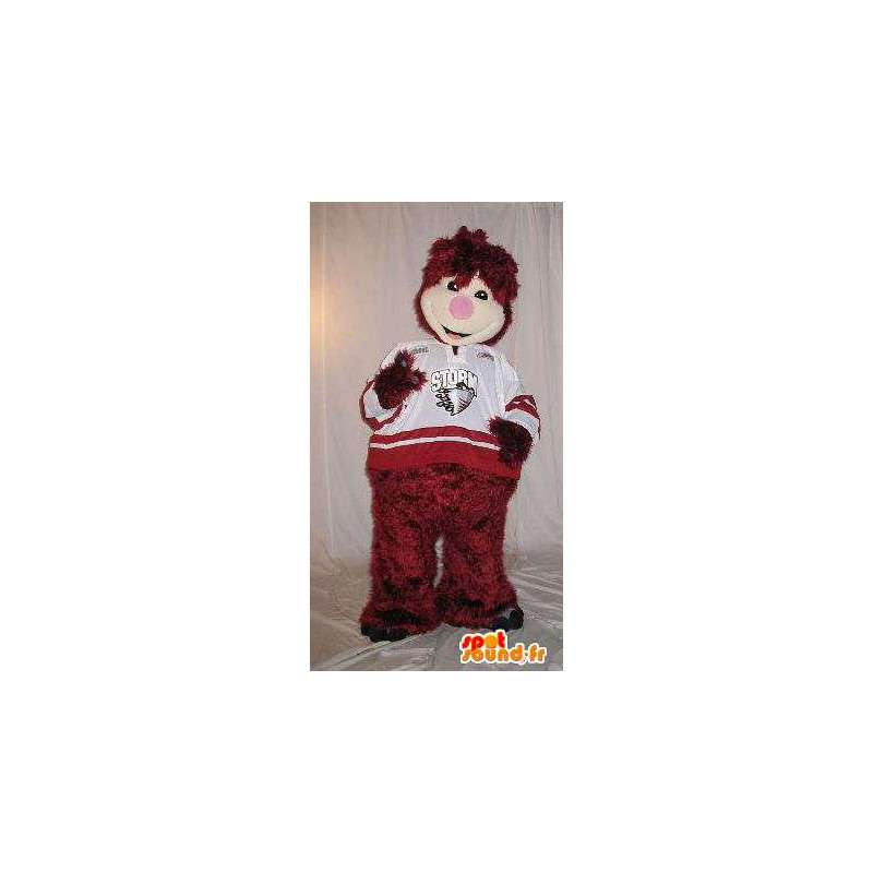 Animierte Plüsch Maskottchen Kostüm für Kinder - MASFR001884 - Maskottchen-Kind