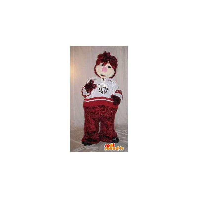Geanimeerde pluche mascotte kostuum voor kinderen - MASFR001884 - mascottes Child