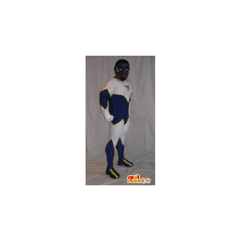 Mascotte de personnage en combinaison, déguisement de BD - MASFR001888 - Mascottes non-classées