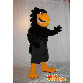 Maskotka agresywny i nieprzyjemny kruk na imprezy Halloween - MASFR001894 - ptaki Mascot
