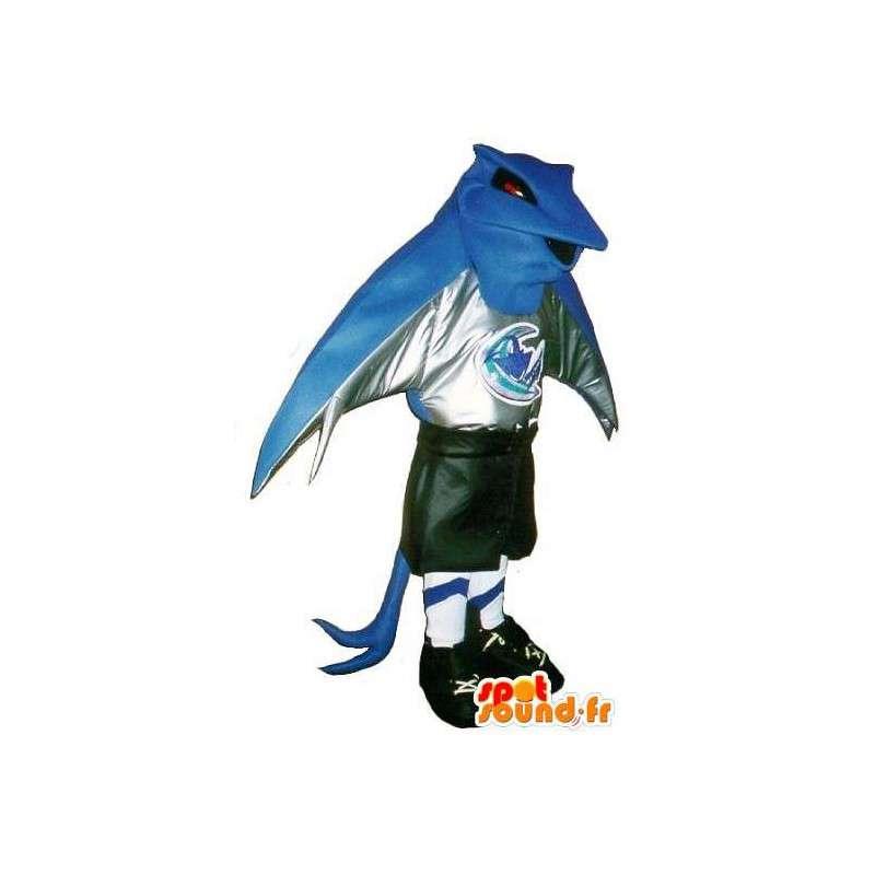 Mascot Pokemon jalkapalloilija jalkapalloseura valepuvussa - MASFR001902 - Pokémon maskotteja