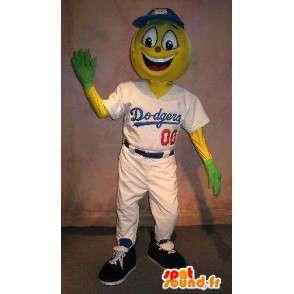 Giocatore di baseball costume della mascotte Dodgers - MASFR001908 - Mascotte sport