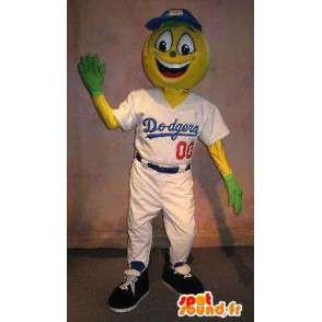 Mascot player Dodgers baseball costume - MASFR001908 - Sports mascot