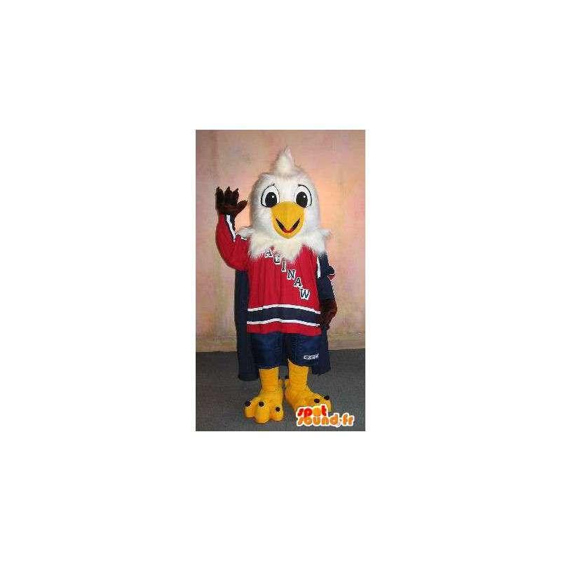 Mascot Eaglet in sportkleding, speelgoed vermomming - MASFR001912 - sporten mascotte
