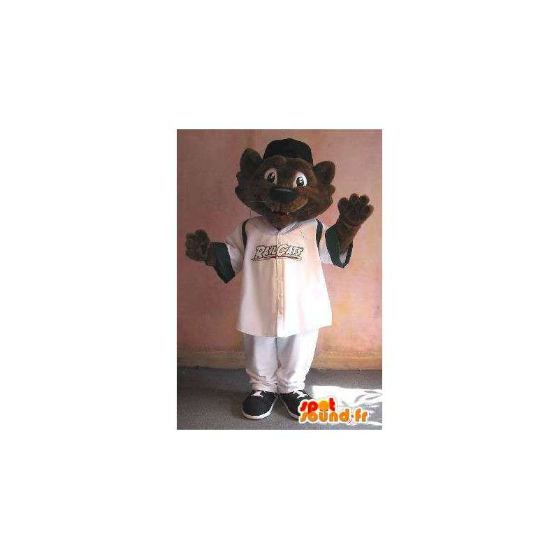 Cat Mascot sportsklær, sport katt kostyme - MASFR001915 - Cat Maskoter