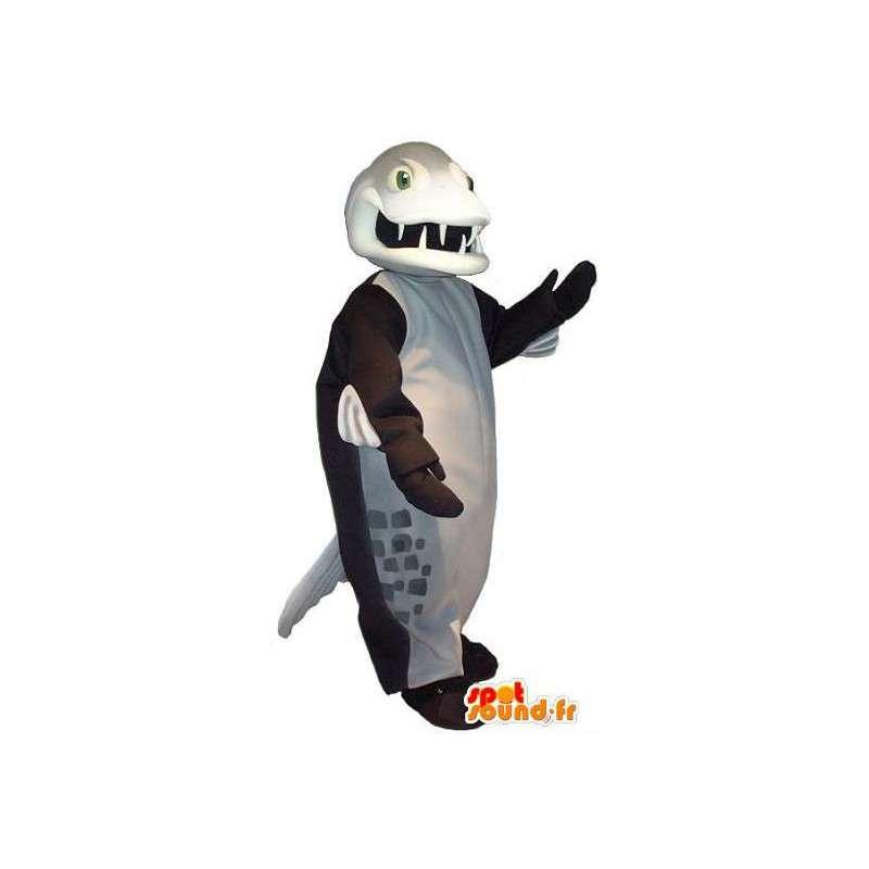 Fish-mostro mascotte costume mostro marino - MASFR001917 - Mostro marino mascotte