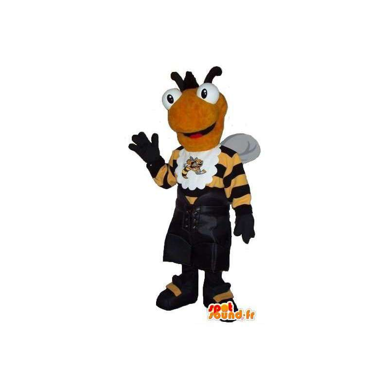 Bee mascot dressed in sport, sports bee costume - MASFR001921 - Mascots bee
