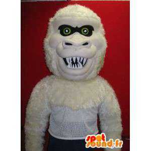 Ekkel gorilla maskot kostyme jungelen