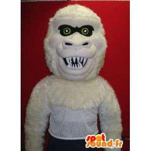 Mascotte de méchant gorille, déguisement de la jungle