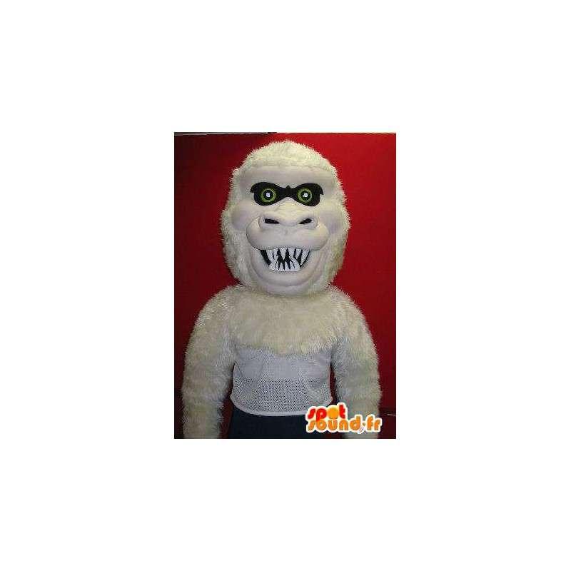 Ilkeä gorilla maskotti puku viidakko - MASFR001930 - Mascottes de Gorilles
