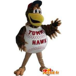 Kurczak maskotka baseball, amerykański sportu przebranie - MASFR001932 - sport maskotka