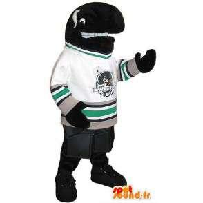 Orca American football mascot costume sports USA - MASFR001933 - Sports mascot