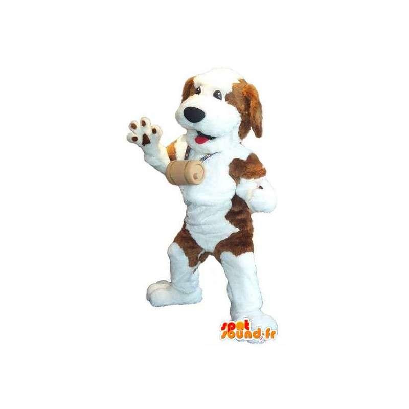 Saint Bernard mascot costume Mountain Dog - MASFR001935 - Dog mascots