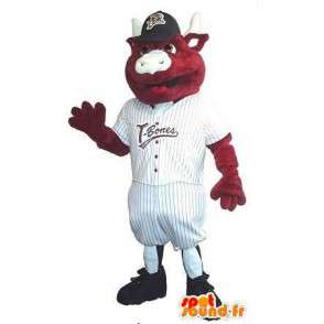 Mascot Kalb Baseballspieler Baseballspieler Kostüm - MASFR001940 - Sport-Maskottchen
