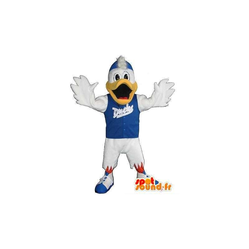 Mascotte de canard sportif, déguisement fitness - MASFR001951 - Mascotte de canards