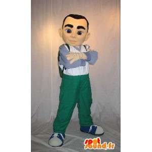 Mascot teenager, youth disguise