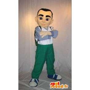 Mascotte de jeune adolescent, déguisement jeunesse - MASFR001958 - Mascottes Garçons et Filles