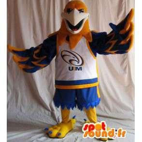 Eagle Mascot tilalla koripallo, koripallo naamioida - MASFR001963 - maskotti lintuja