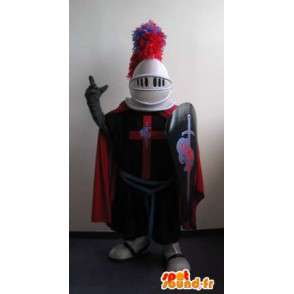 Ridder maskot middelalderen, korsfarer forkledning - MASFR001980 - Maskoter Knights