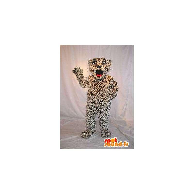 Mascot van een schattig klein cheetah kostuum kind - MASFR001985 - mascottes Child