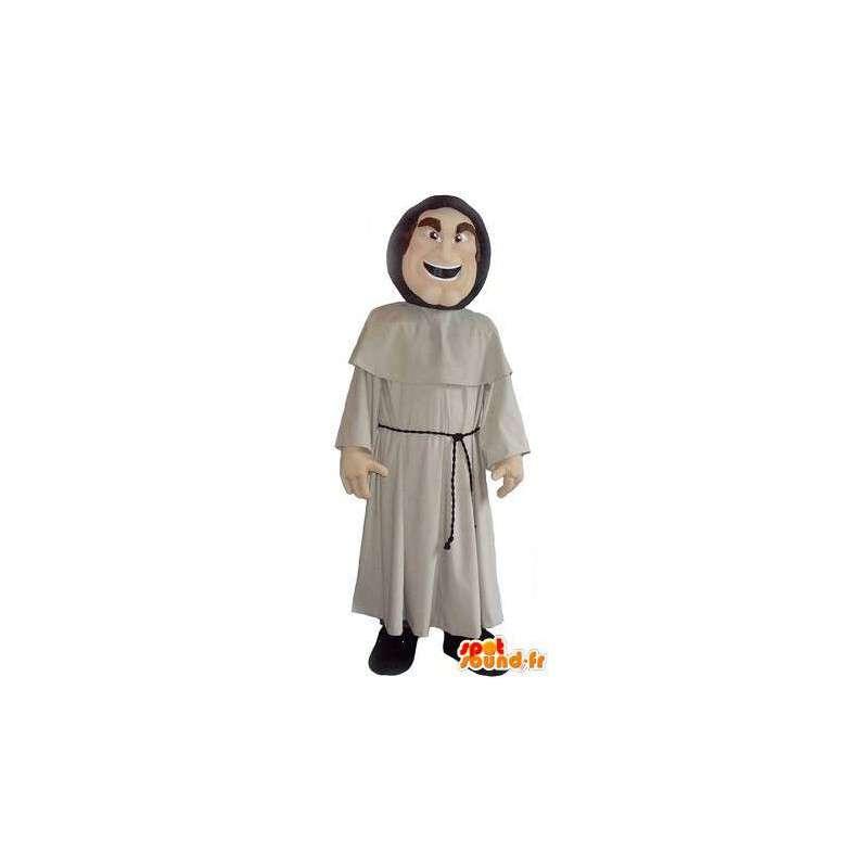 Maskottchen-Kostüm die ein Mönch Kloster - MASFR001996 - Menschliche Maskottchen