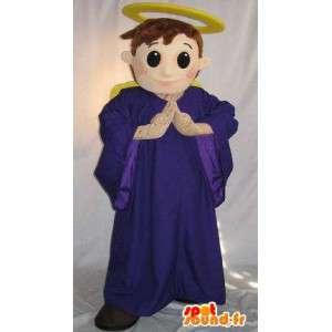 Mascot die een haloed angel, angelic verhullen