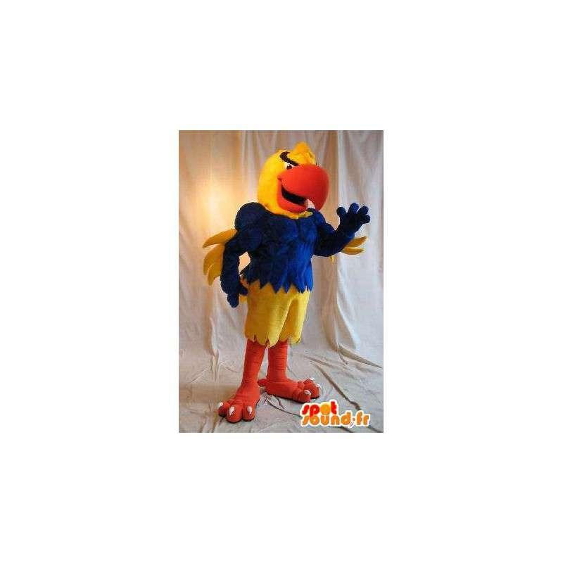 Athletisch Papagei Kostüm Kostüm Muskel - MASFR002010 - Maskottchen der Papageien