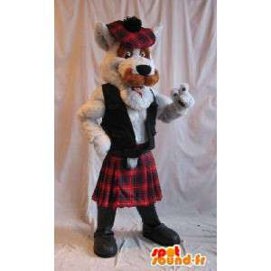 Scottish terrier maskot, skotsk hunddräkt - Spotsound maskot