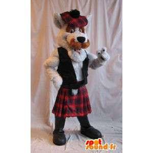 Skotsk terrier maskot, hunden kostyme Skottland