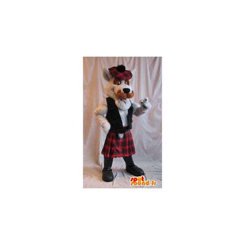 Scottish terrier del costume della mascotte del cane Scozia - MASFR002027 - Mascotte cane
