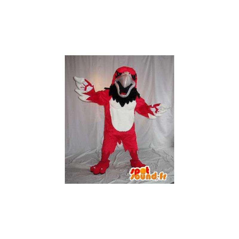 Representing an eagle mascot red bird costume - MASFR002028 - Mascot of birds