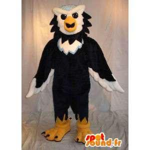 Mascot hybride dier, eagle kruisen en uil