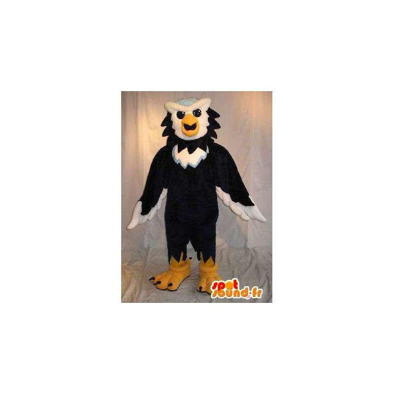 Mascot hybride dier, eagle kruisen en uil - MASFR002032 - Mascot vogels