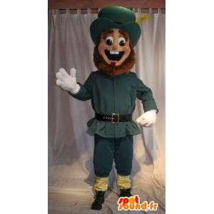 Colono mascote história americana US traje - MASFR002036 - Mascotes homem