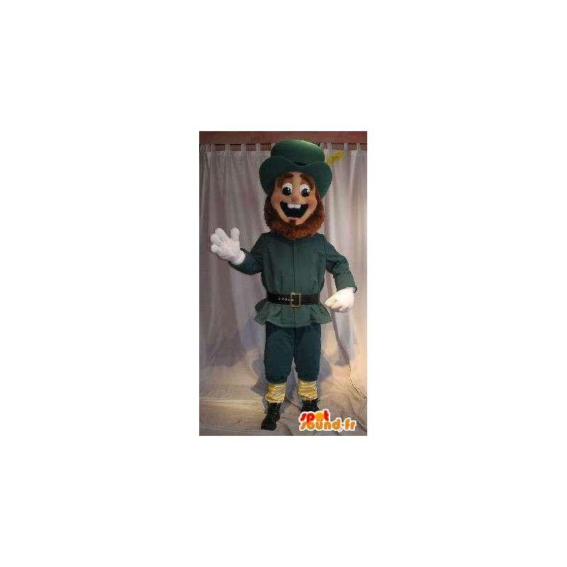 Americký osadník maskot kostým historie US - MASFR002036 - Man Maskoti