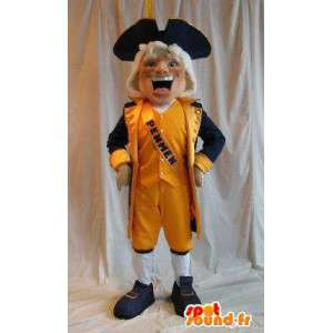 Holandês mascote cavalheiro traje Holanda