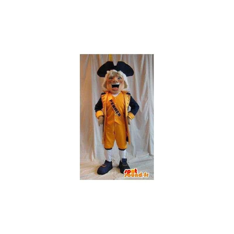 Mascota de caballero holandés traje Holanda - MASFR002038 - Mascotas humanas